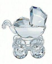 SWAROVSKI CRYSTAL Baby Carriage 1997 $$RARE$$  MIB