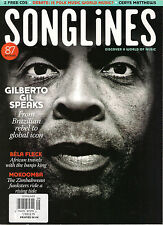 SONGLINES 94 Aug/Sep 2013 GILBERTO GIL SPEAKS Bela Fleck MOKOOMBA ~ NO CDS