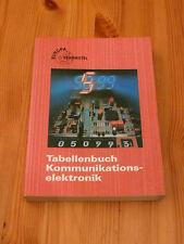 Tabellenbuch Kommunikationelektronik, 2. Auflage 1990, gebraucht, TOP