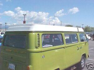 '74 - '92 VW Bus Westfalia Pop Top DLx 3 pc Kit SEALs Bay Westy T2 Van RV Type 2