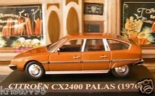 CITROEN CX 2400 PALLAS 1976 IXO ALTAYA 1/43 MARRON NEW