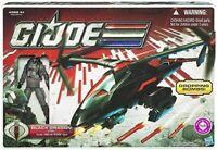 G.I. Joe 30th Anniversary Black Dragon VTOL includes Cobra Air Trooper