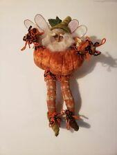 "Mark Roberts Pumpkin Pie Fairy Ornament 10"" No Box"