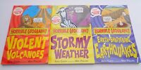 Bundle of 3 Horrible Geography Books Paperback