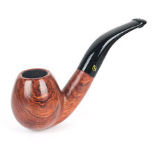 New Classic Rosewood Wooden Tobacco Smoking Pipe 9mm Filter #D010