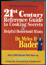 21st Century Reference Guide to Cooking Secrets & Helpful Household Hints