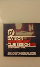 COMPILATION - D: VISION AMSTERDAM CLUB SESSION 43  - DOPPIO CD