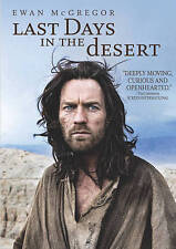 NEW Last Days in the Desert DVD 2016 Religious Video Ewan McGregor Free Shipping