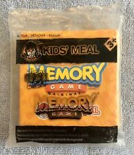 Brand New Wendys Kids Meal Toy Memory Game Cards