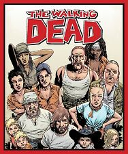 """Skybound The Walking Dead Character 100% cotton fabric by the panel 35"""" X 43"""""""