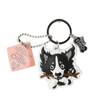 Wags & Whiskers Top Dogs Border Collie Dog Keyring 00204000004