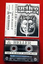 HELLER DEMO TAPE 1993 RARE EXYUGO CASSETTE TAPE HEAVY SPEED THRASH METAL