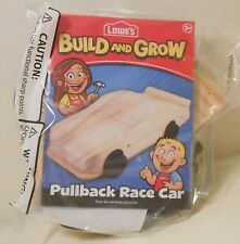 Model RACE CAR #48 JIMMY JOHNSON Lowe's Build and Grow Wooden Kit Patch Nascar