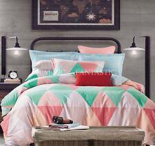 T531 Super King Size Bed Duvet/Doona/Quilt Cover Set New 100% Cotton