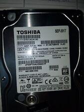 Toshiba (2) 661699-001 (1) 661699-002  Interface SATA 7200RPM HDD