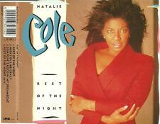 NATALIE COLE - Rest of the night 4TR CDM 1989