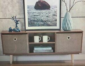 High Gloss Wooden TV stand