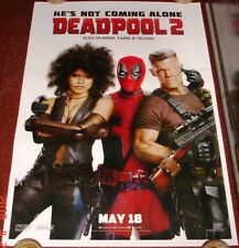DEADPOOL 2 (2018)  DS POSTER DOUBLE SIDED