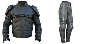Batman The Dark Knight Rises Motorcycle Leather suit / Batman v Bane suit