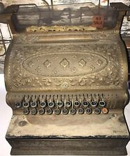 Rare Antique Brass National Cash Register Model 38 NCR Candy Store General Store