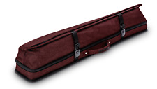 New Predator Urbain Rugged Soft Pool Cue Stick Case - 2 Butts x 4 Shafts - RED