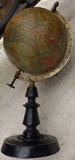 Globe terrestre - mappemonde ancienne par J. Forest