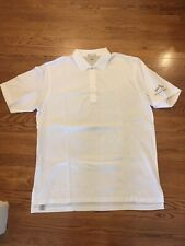 Peter Millar Jack Daniels Mens Polo Shirt Sz XL White