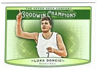 Luka Doncic 2018 Upper Deck UD Goodwin Champions Horizontal RC