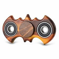 Bat Wooden Look Gyro Style Stress Reliever Spinner