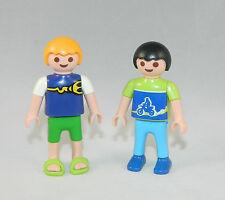 Playmobil Stadtleben Wohnhaus 2 x Jungen passt zu 4279 4287 #34993