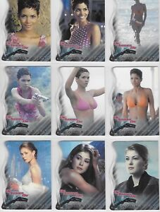 JAMES BOND  DIE ANOTHER DAY WOMEN OF BOND CHASE CARD SET W1 TO W9  CHOOSE