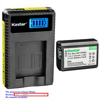Kastar Battery LCD USB Charger for Sony NP-FW50 BC-VW1 & ILCE-5100 Alpha a5100