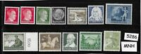 #5286     Small MNH stamp set / Adolph Hitler / WWII Germany / Third Reich era