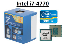 Intel Core i7-4770 SR149 ''Haswell'' 4 Core, LGA1150, Clock 3.4 - 3.9 GHz CPU