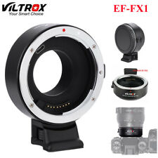 Viltrox EF-FX1 Auto Focus Adapter for Canon EF/EF-S Lens for Fuji X Mount SG