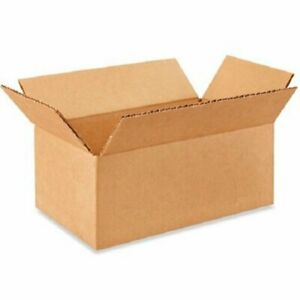 200 8x4x2 Cardboard Paper Boxes Mailing Packing Shipping Box Corrugated Carton