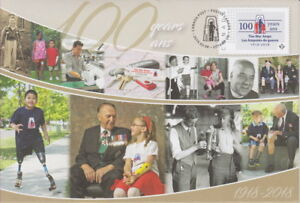 CANADA 2018 The War Amps 1918-2018 Special Event Cover