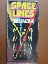 Vecchio gioco da tavolo SPACE LINES LINEE SPAZIALI INVICTA GIOCHI 3029 vintage e