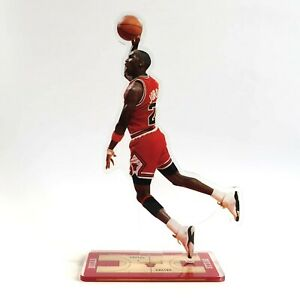 Michael Jordan Standing Figure - #23 of Chicago Bulls Dunks Against Jeff Malone