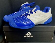 Adidas D'Artagnan V Blue & White Fencing Shoes New in Box Nib Mens 5.5