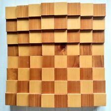 Original Patented Design By 3D Chess Cedar Board Made In The U.S.A. Board Only
