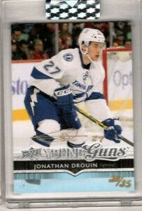 JONATHAN DROUIN 2019 Upper Deck Buybacks GOLD AUTO Rookie Young Guns #/25 RC