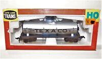 Life-Like HO Texaco 1-dome Tank Car EXC Rail Ready 8593