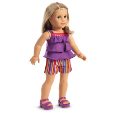 American Girl Summertime Stripes Outfit  ~ NIB ~ Free Shipping USA