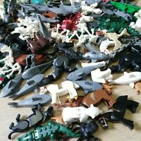 LEGO Mixed Animals (QTY X5 per order) dogs, horses, sharks& more, Suprise Packs!
