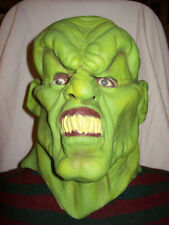 HTF Rare 1996 Goosebumps The Haunted Mask Official Halloween Latex Costume Mask