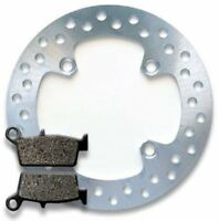 HONDA REAR Brake Disc Rotor + Pads XR 250 R/L Pro (90-04) 400 R (96-04) NEW