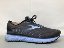 Brooks Womens Glycerin 18 1203171D050 Gray Blue Running Shoes Lace Up 8 D Wide