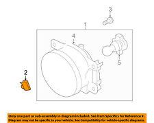 SUBARU OEM Foglight Fog Driving Light Lamp-Fog Lamp Assembly Nut 902510032