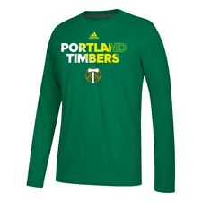"Portland Timbers MLS Adidas Men's Kelly Green ""Striker"" Climalite T-Shirt"